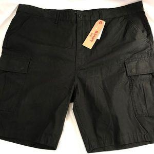 Levi's Shorts - Levi's Men's Carrier Cargo Shorts Size 44 Black